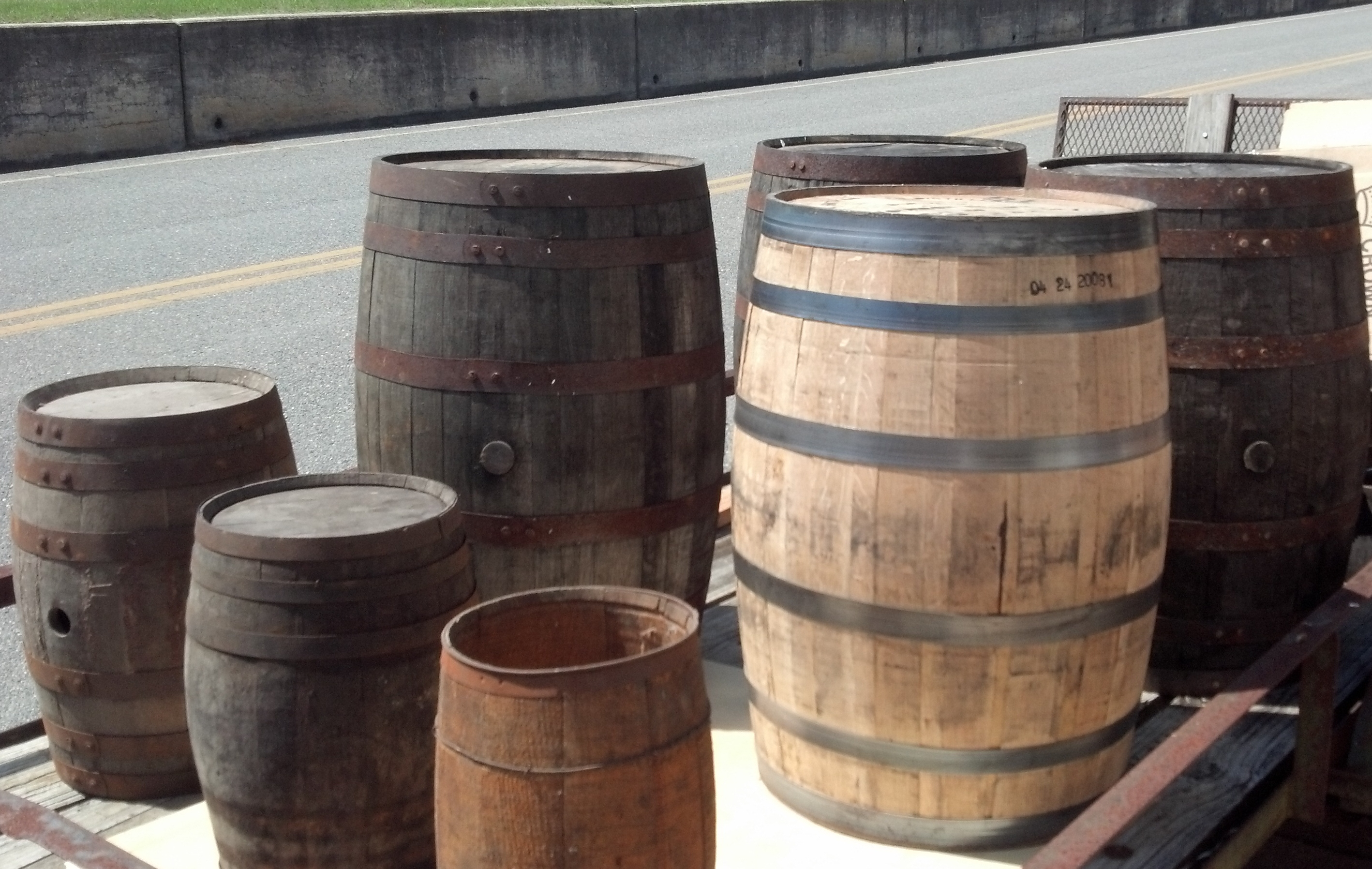 Antique Barrels at Soperton Antique